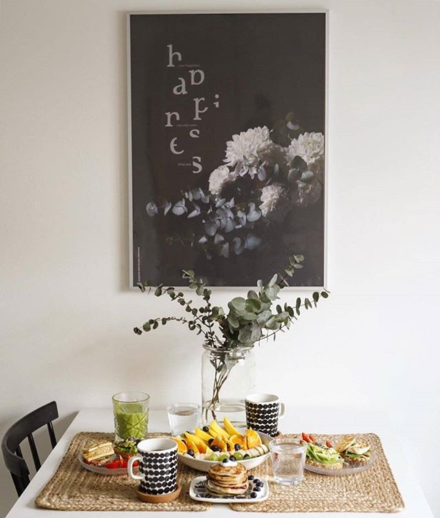 Fresh weekend vibes 🌿 Thanks a lot @muutos365 📷  #weekend #greatvibes #wallart #printedmatter #luxuriouspaper #printedinfinland #artprints #letsspeakinflowers #bloombyarmihelena