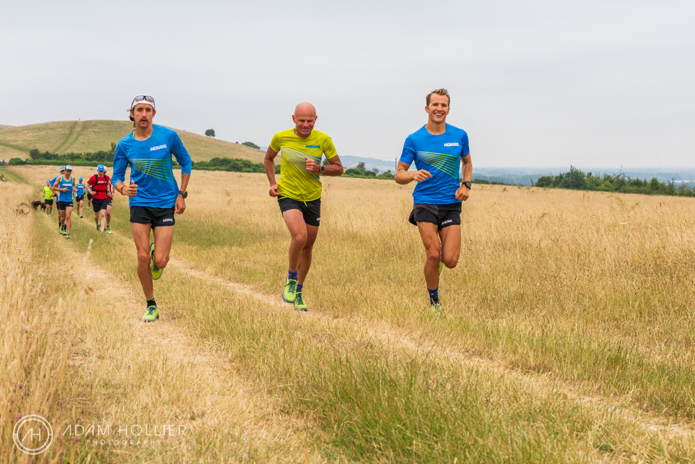 I was approached by leading trainer brand, HOKA to photograph various running events for a press trip. The runs took place just down the road from me in Tring, Ivinghoe and ending up at Champneys.