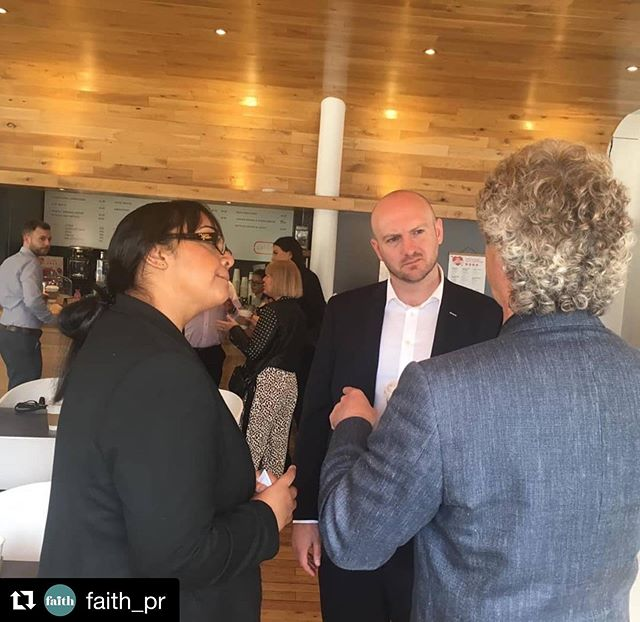 #Repost @faith_pr ・・・ Thanks to @midyorkshirechamber for hosting this morning's networking event at @themediacentre, we'll be back soon for another coffee! ☕ #MYNetworkHUD
