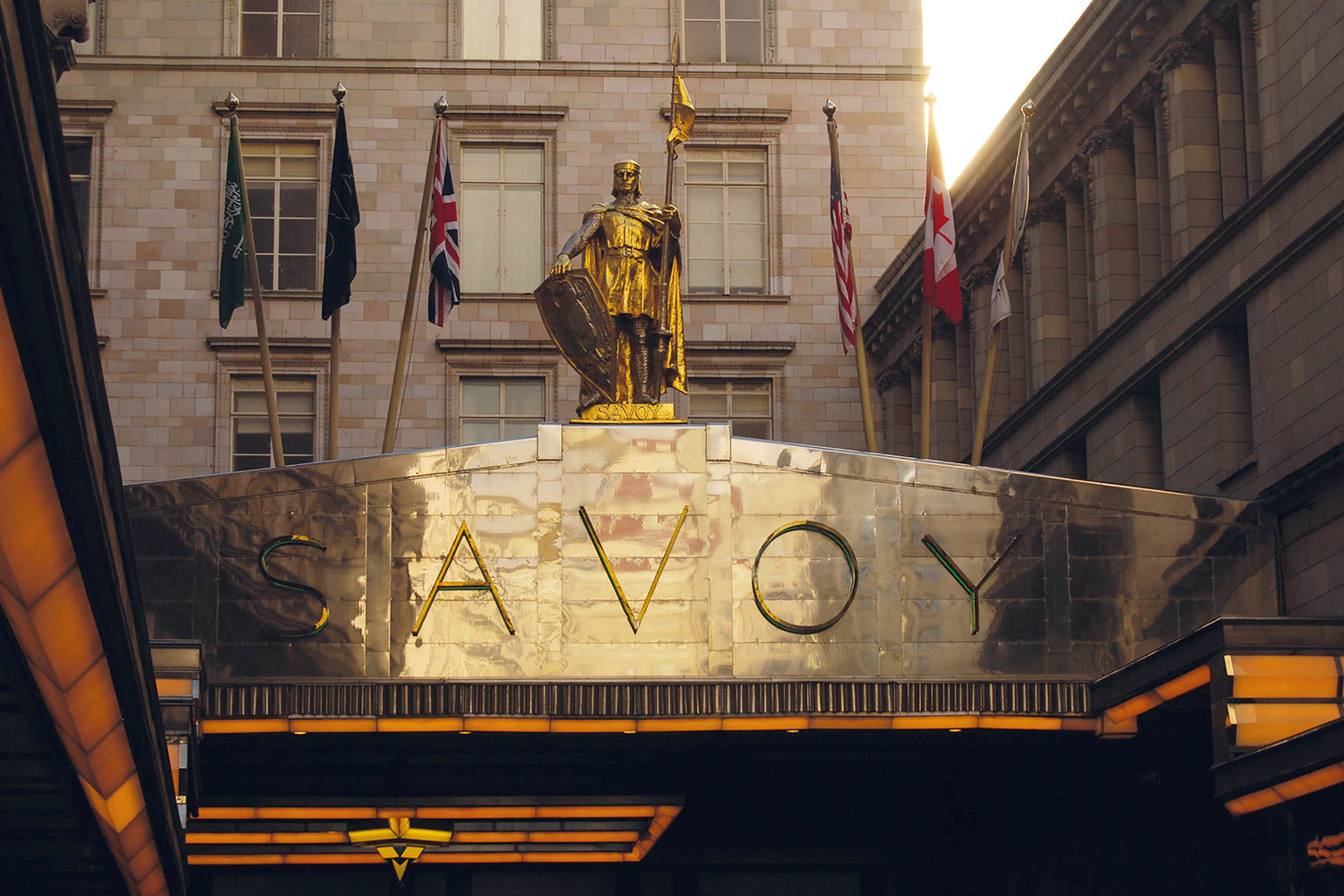 THE SAVOY HOTEL -