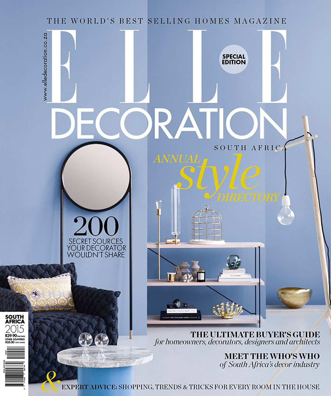 Elle Deco Style Directory 2016 / 2017