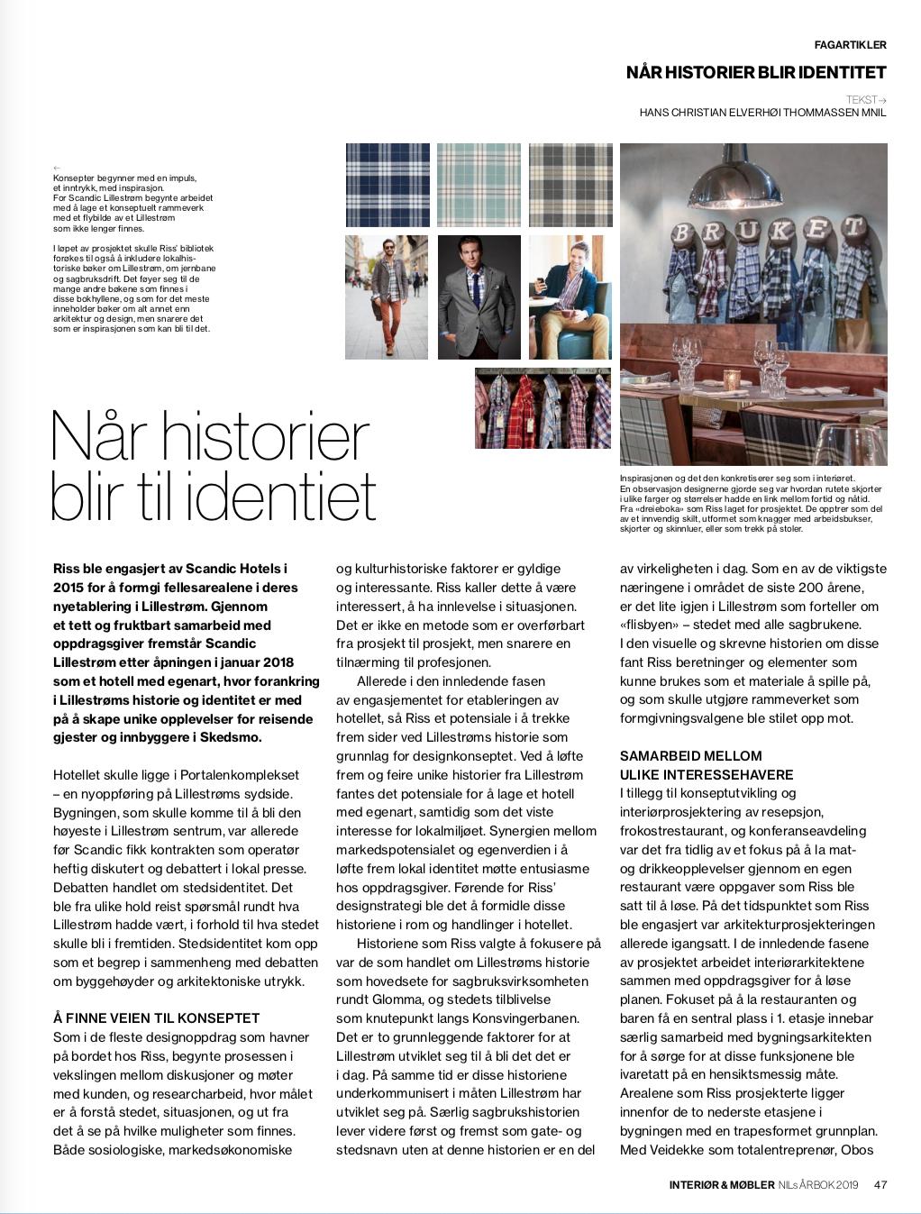 SE FULL ARTIKKEL:  NILsÅRBOK2019