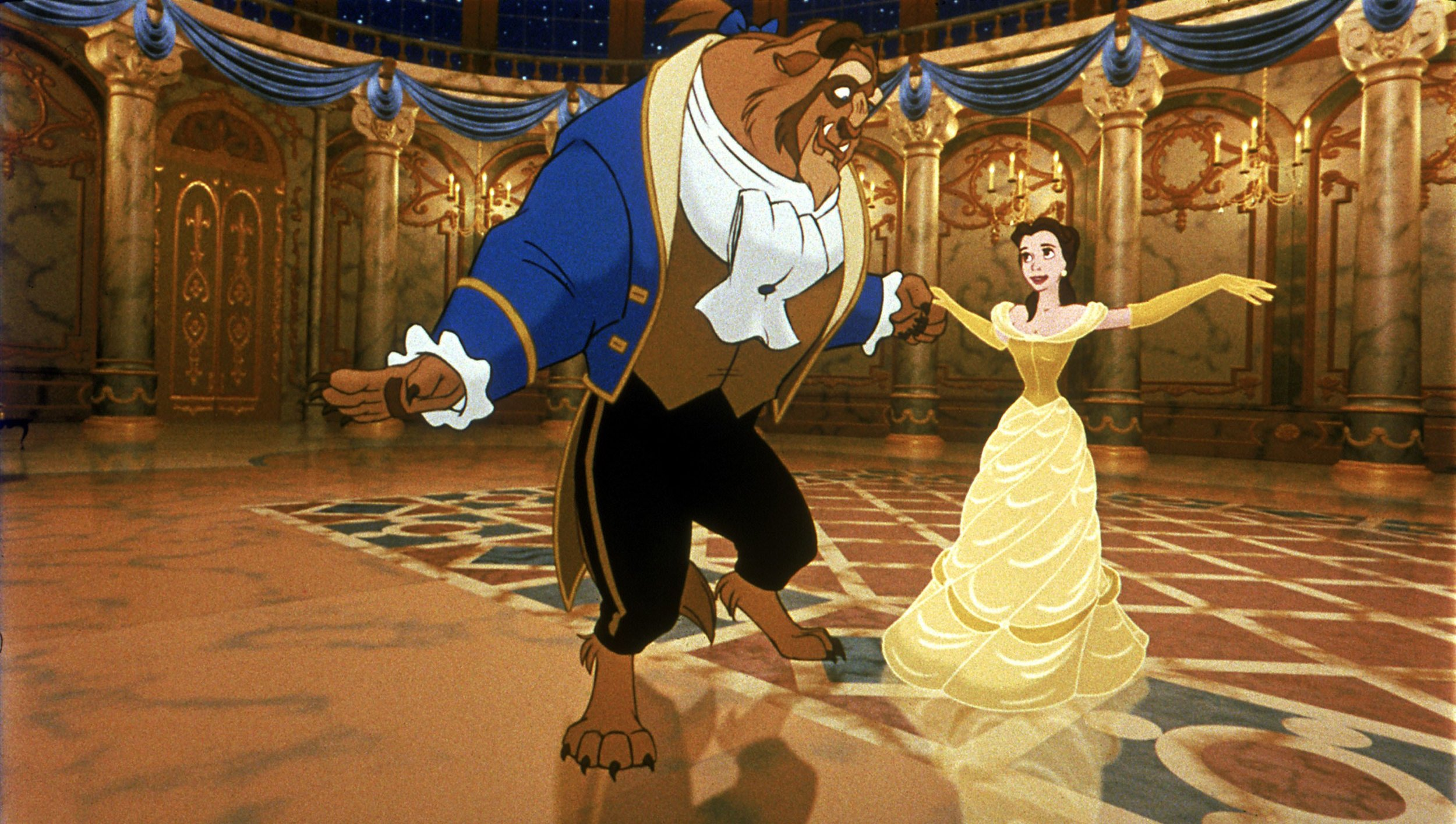 5. Beauty and the Beast (1991) -
