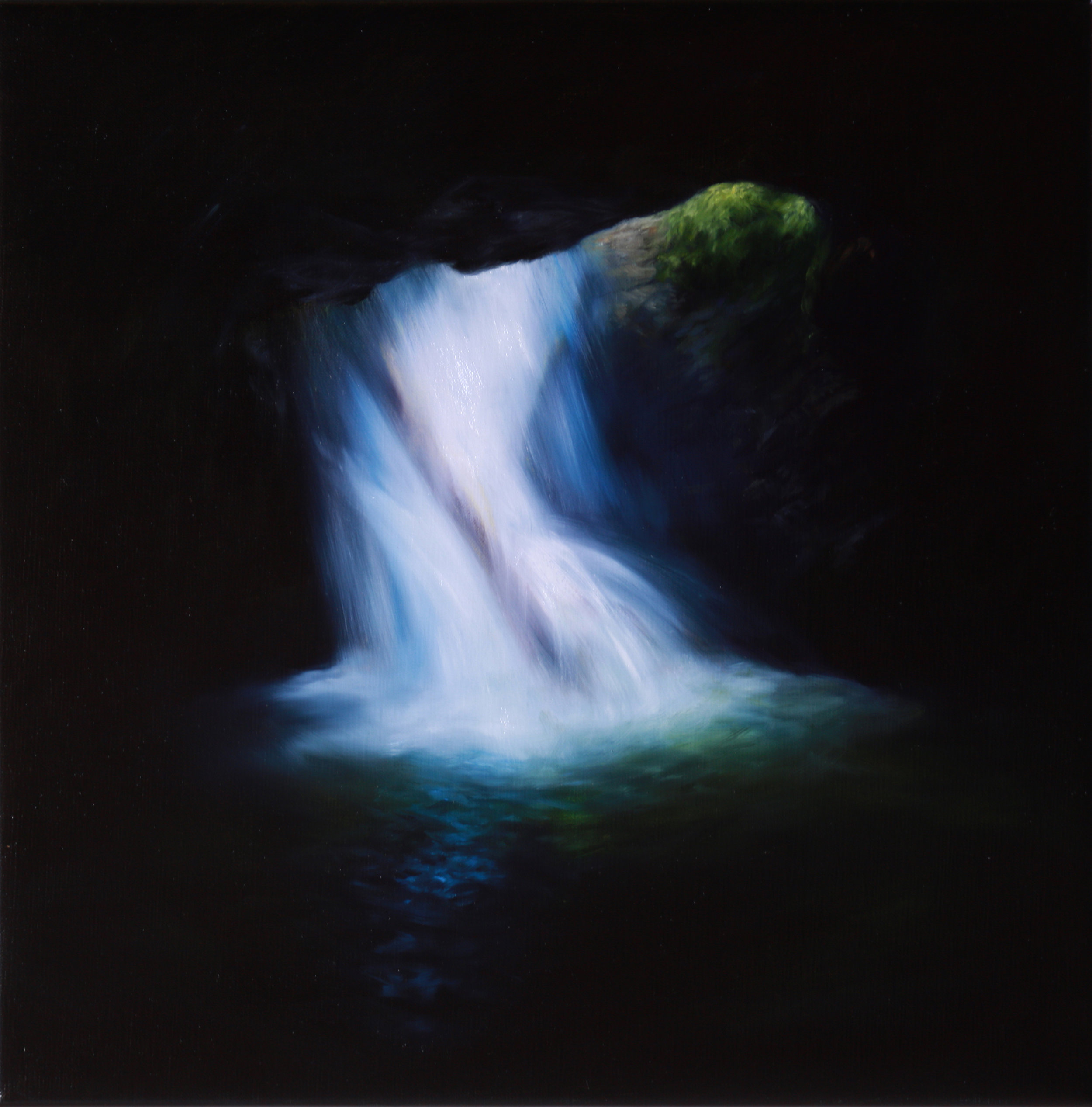 Bridge Claire_Cascade I_ 2016_oil on linen_40x40cm. (2).jpg