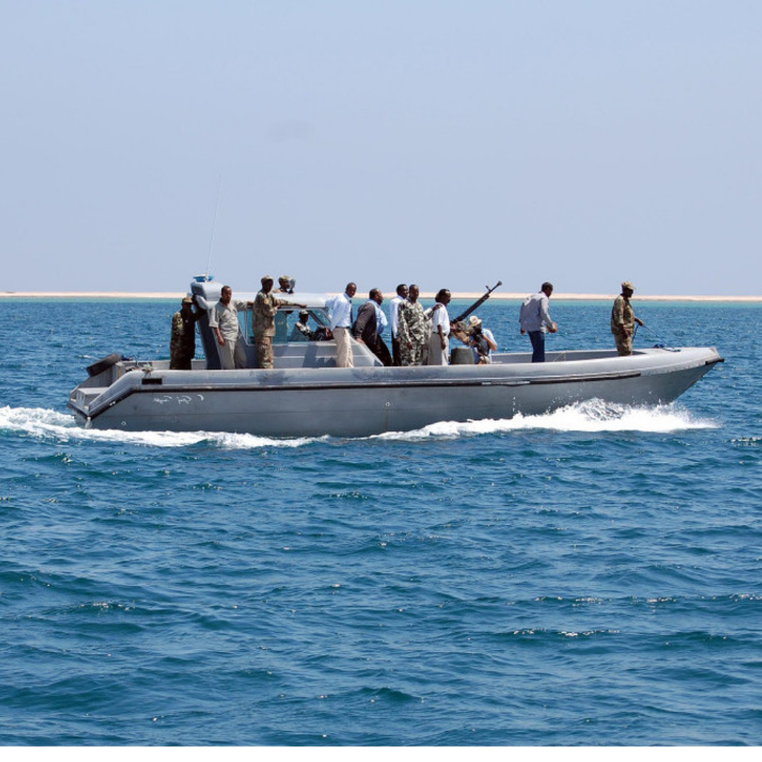 STRENGTHENING MARITIME SECURITY IN THE HORN OF AFRICA - Since 2016, we have been active in the Horn of Africa, building the capacity of the Somaliland Coastguard to protect the coastline against evolving piracy threats through faster reporting from the sea to the capital, powered by AKTEK software.