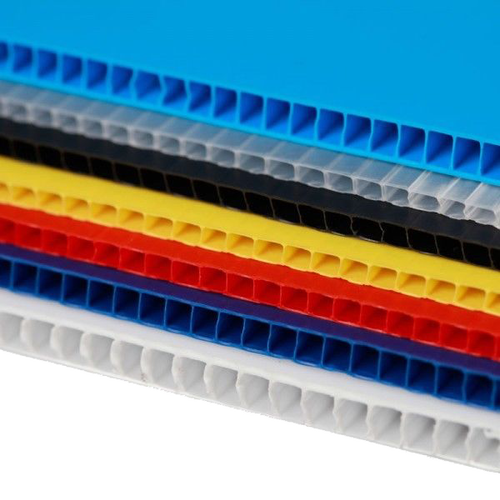 Plastic Corrugated - If a standard molded container will not work for your product, let Pyramid design a custom plastic corrugated container to fit your needs. They can be produced to any size out of a verity of materials. Pyramid use a High Impact PVC extruded frame with a proprietary, reinforced molded corner insert for extra stacking strength. This also allows our custom totes to withstand a much greater side impact than other corrugated plastic totes available. Our distinctive design style is less costly than the common
