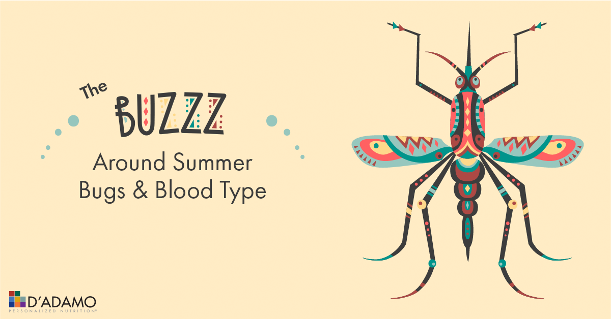 Click to read more about which type bugs prefer and ways to try and deter them from eating you alive this summer!