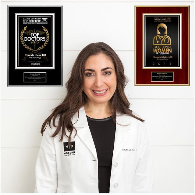 """Dr. Klein is kicking off 2019 strong! We're proud to share that she was recently named to Castle Connolly's 2019 list of """"Top Doctors"""" in Fairfield County and she was also named to their list of """"Exceptional Women in Medicine"""" for 2018. Check out the January/February issue of @WestportMagazine to see the full list of recognized doctors across specialties. ⠀⠀⠀⠀⠀⠀⠀⠀⠀ 〰️〰️〰️ To see us as a patient please contact the office by phone or email. ⠀⠀⠀⠀⠀⠀⠀⠀⠀ 〰️〰️〰️ ☎️ (203) 635-0770 💌 info@moderndermct.com 💻 moderndermct.com 📍1032 Post Road East, Westport ⠀⠀⠀⠀⠀⠀⠀⠀⠀ 〰️〰️〰️ Images are (c) Modern Dermatology PC, unless otherwise credited. Please do not use or distribute our images without written permission. ⠀⠀⠀⠀⠀⠀⠀⠀⠀ 〰️〰️〰️ #moderndermct #westportct #06880 #fairfieldct #06824  #wiltonct #westonct #norwalkct #greenwichct #stamfordct #trumbullct #milfordct #newcanaanct #darienct #fairfieldcounty #doctors #dermatology #dermatologist #healthyskin #boardcertifieddermatologist #aad #physician #mompreneurs #skinisin #castleconnollytopdoctors"""