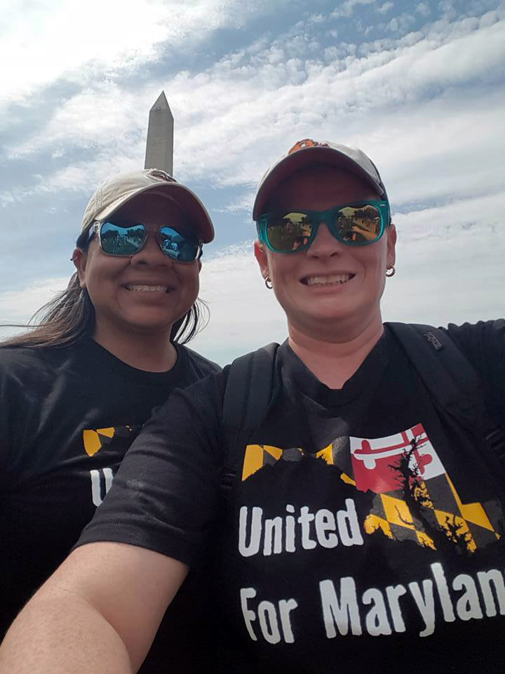 United For Maryland rocked the March for Truth in our new t-shirts!   Interested in getting one? (Photo Credit  Tabitha Simms )