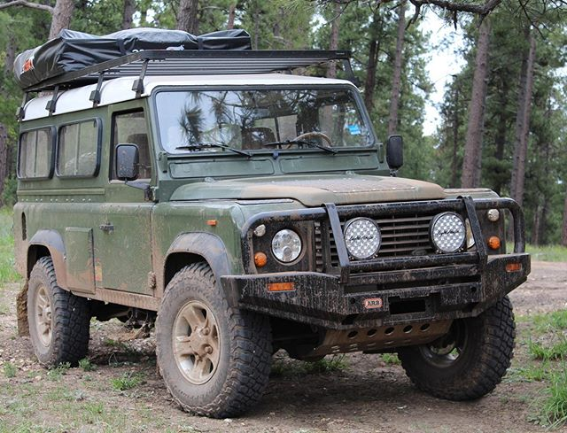 One of our Defender outfitted for overland adventure!