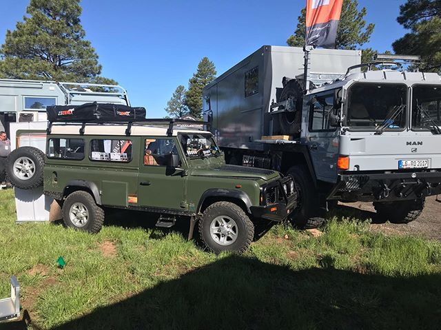 We had a great booth and an awesome time @overlandexpo West. Always an awesome experience to meet new people and show our products! @ti.systems @rreglobal #overlandexpowest2019 #overlandexpo #landroverdefender #defender110 #overland #overlanding