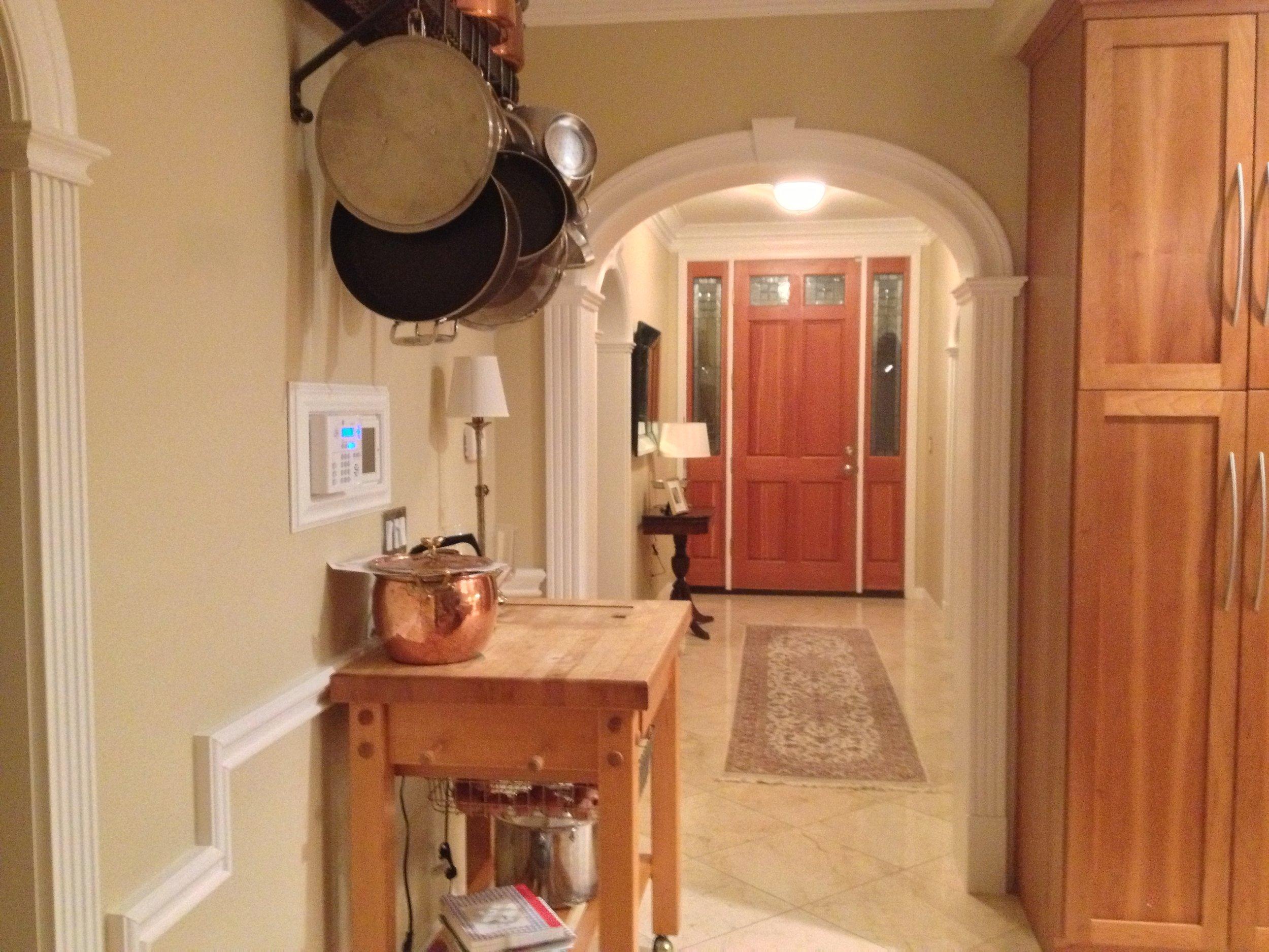 Archway Entry Foyer
