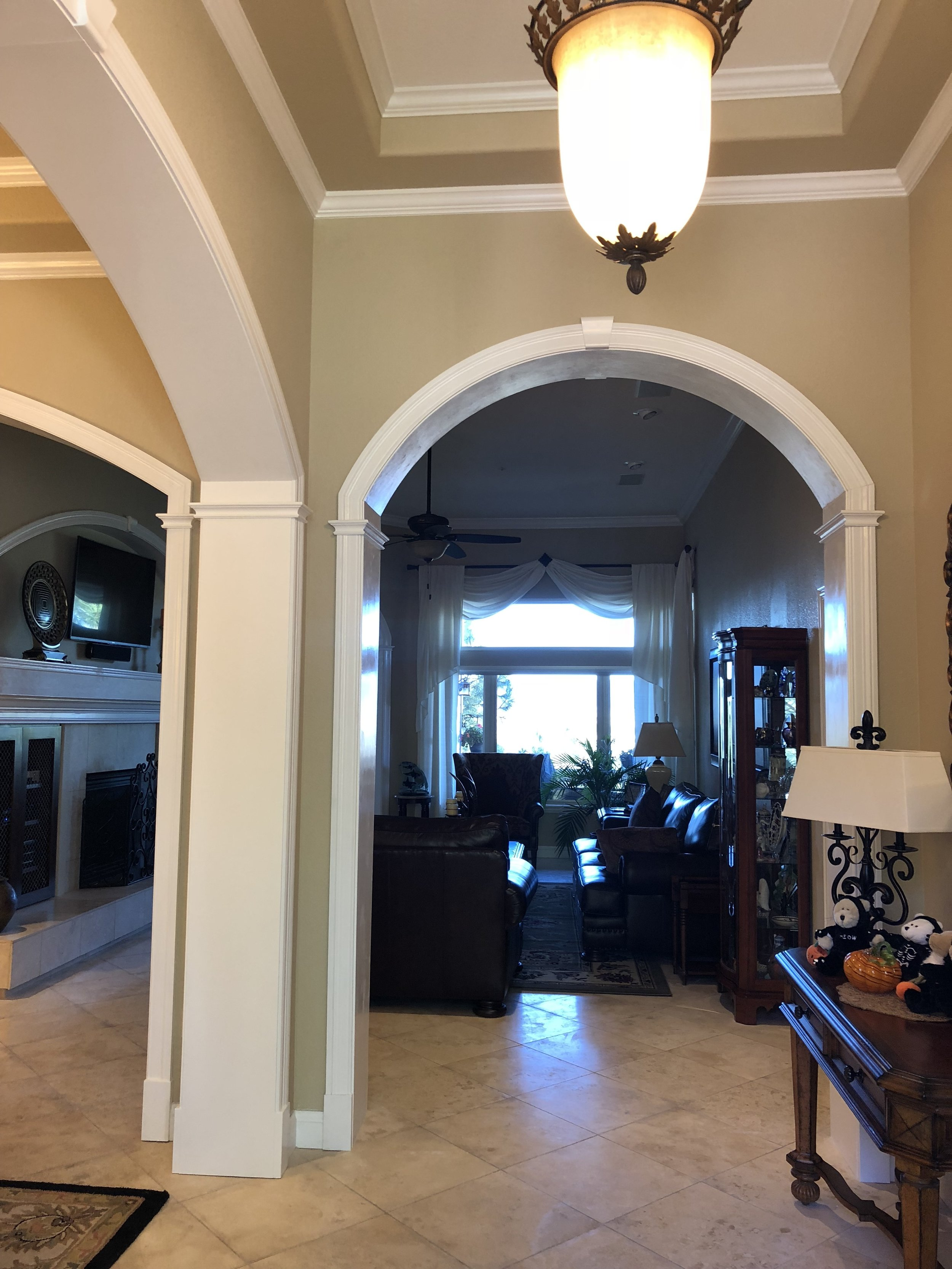 Arched Entryway Trim