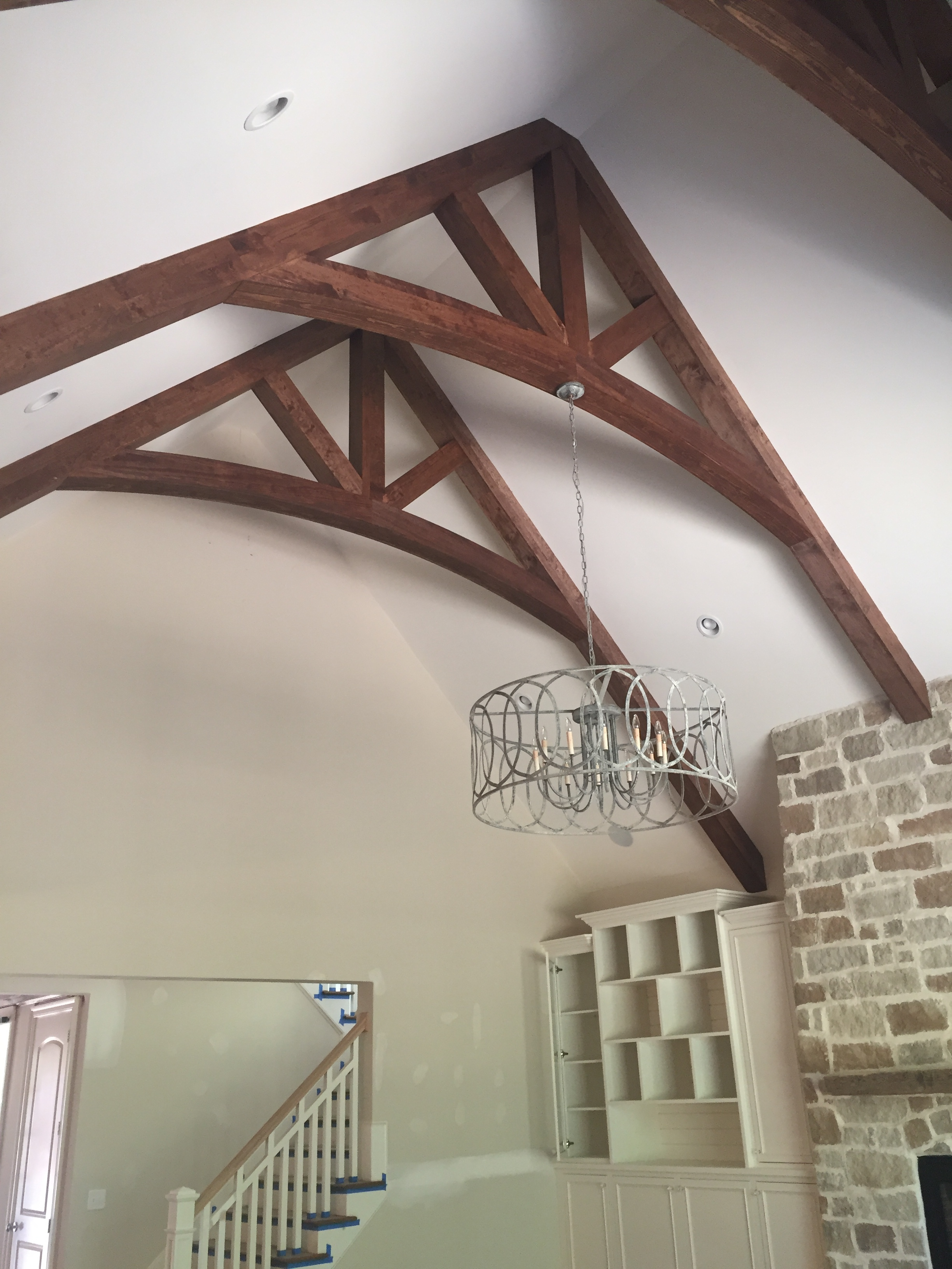 ARched Ceiling Beams - Pine