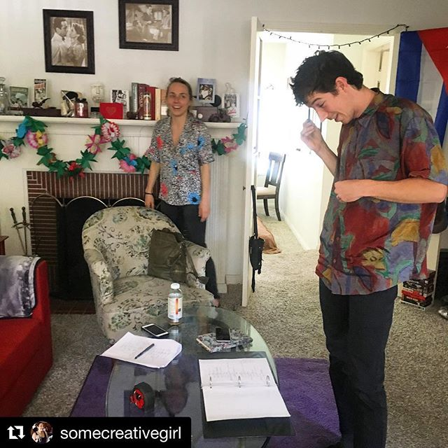 Repost from our badass producer and friend @somecreativegirl of last week's walk through!! @katejmurdie and @dustinsupencheck  are ready to go! We are SOOOO pumped for Monday's shoot! Stay tuned everyone and check our stories for more updates!!! . . . #comingsoon #indiefilms #supportindiefilm #filmmaking #femalefilmmakers #femaleproducer #femaledirector #femalescreenwriter #bodyheat #shortfilms #16mm #miamiinspired #walkthrough #shotlist #locations #locationscout #virtualreality #behindthescene