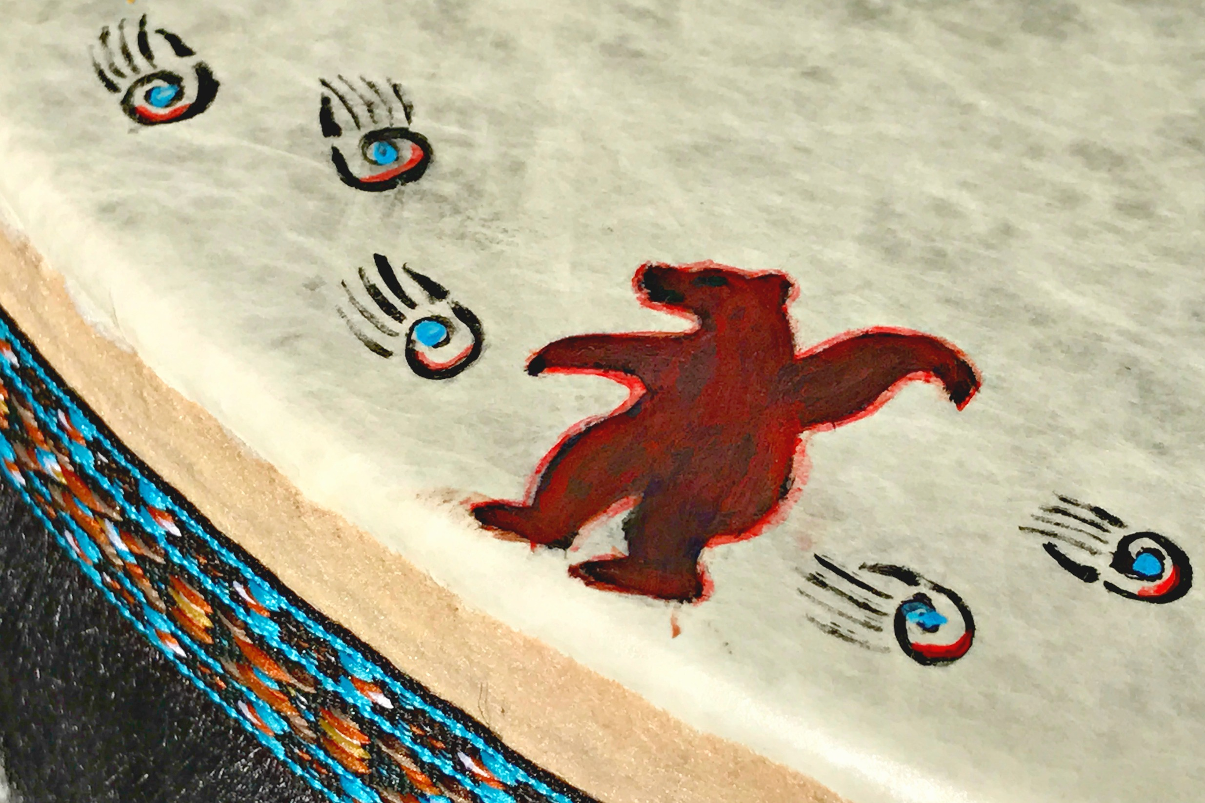 Indigenous drum