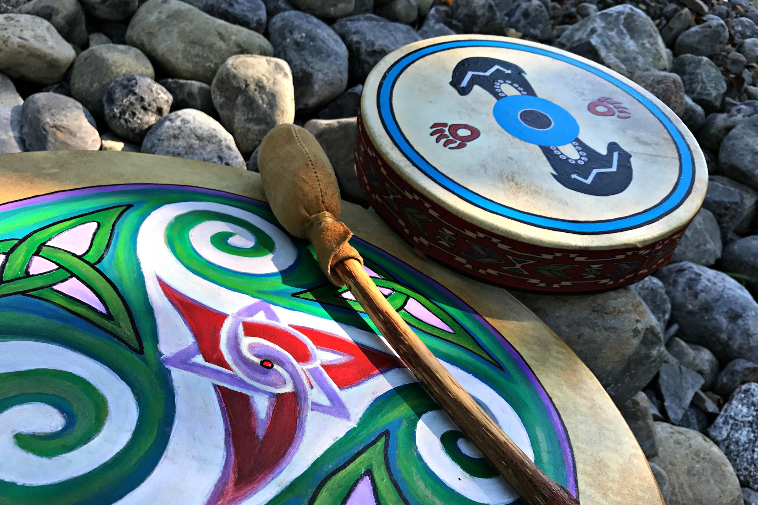 Indigenous drums
