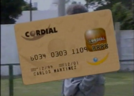 Cordial Cards   Advertising the launching of Cordial Credit Cards.