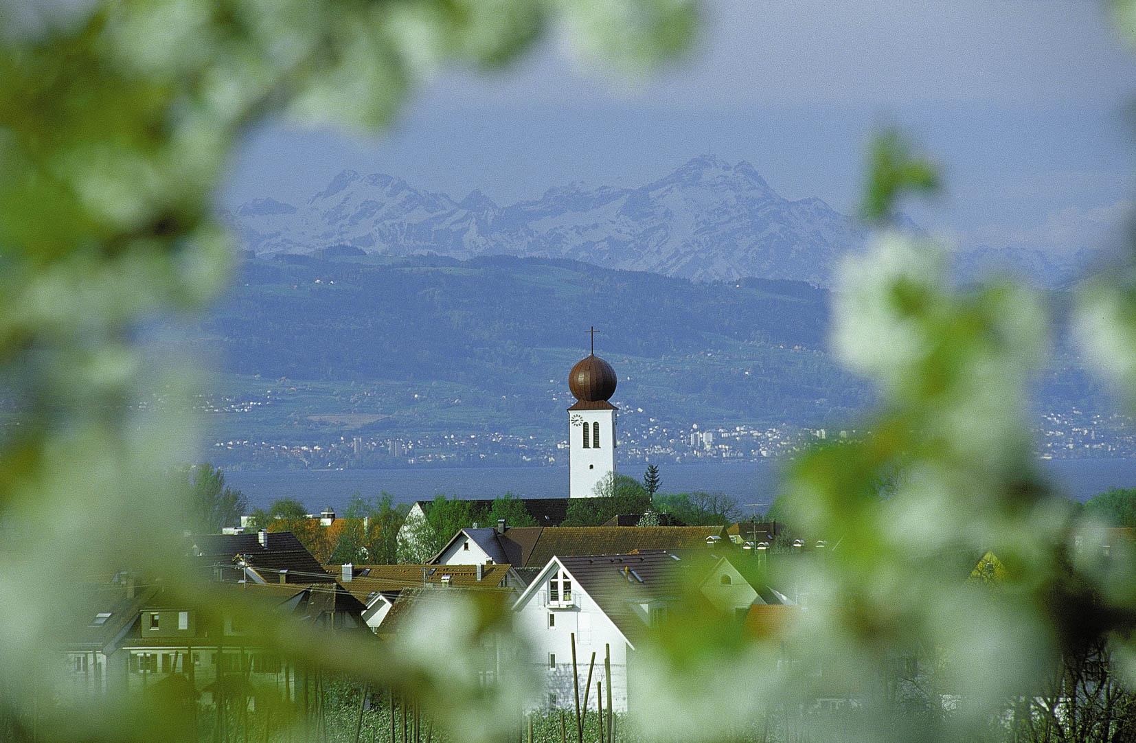 Blick auf Kressbronn am Bodensee