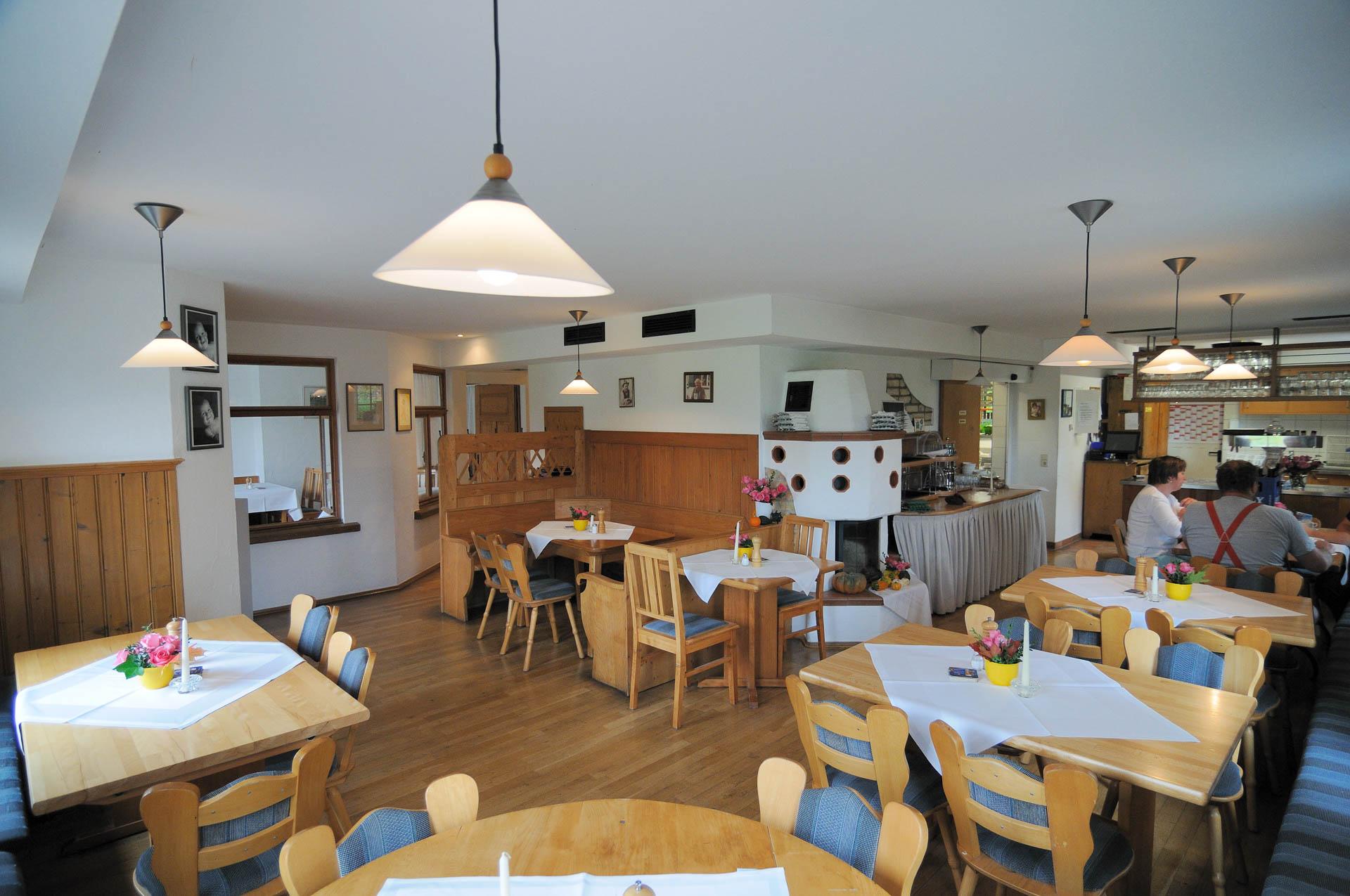 Gemütlich Stube im Restaurant des Gasthaus Seerose in Nitzenweiler bei Kressbronn am Bodensee