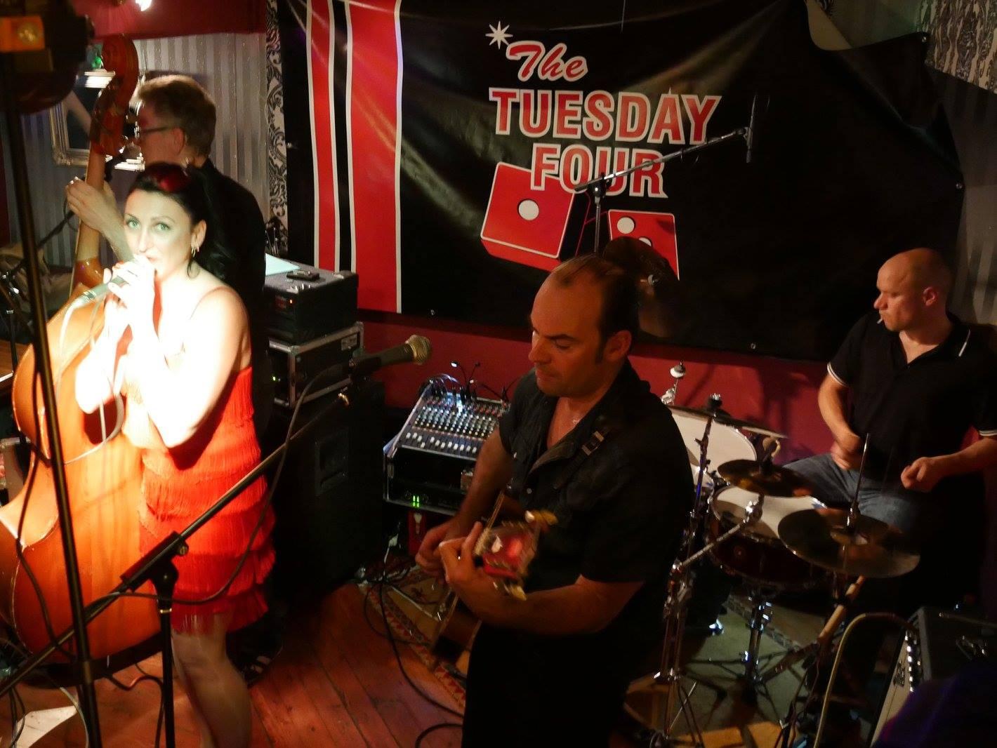 The Tuesday Four spielen im Gasthaus Seerose