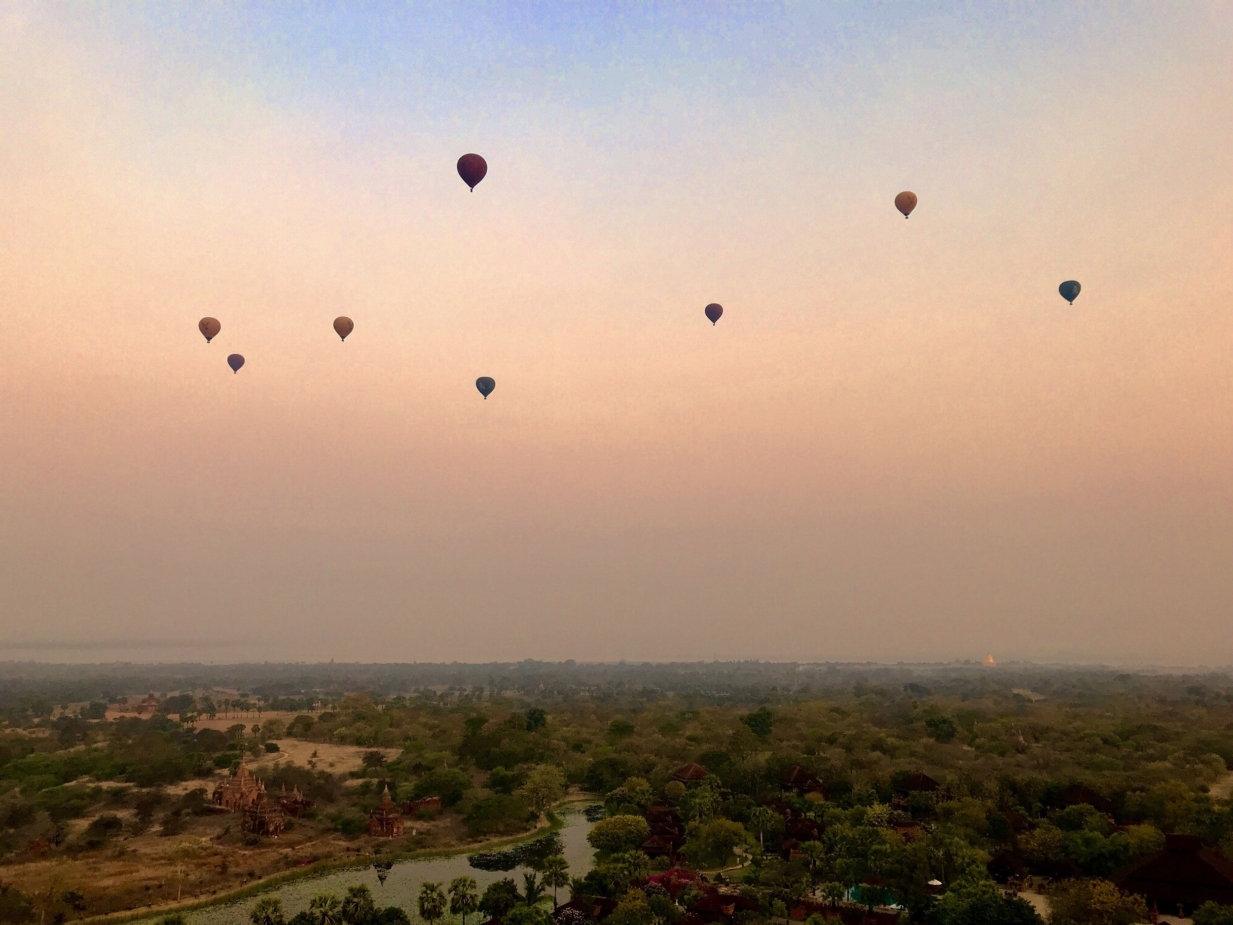 Sunrise - Bagan