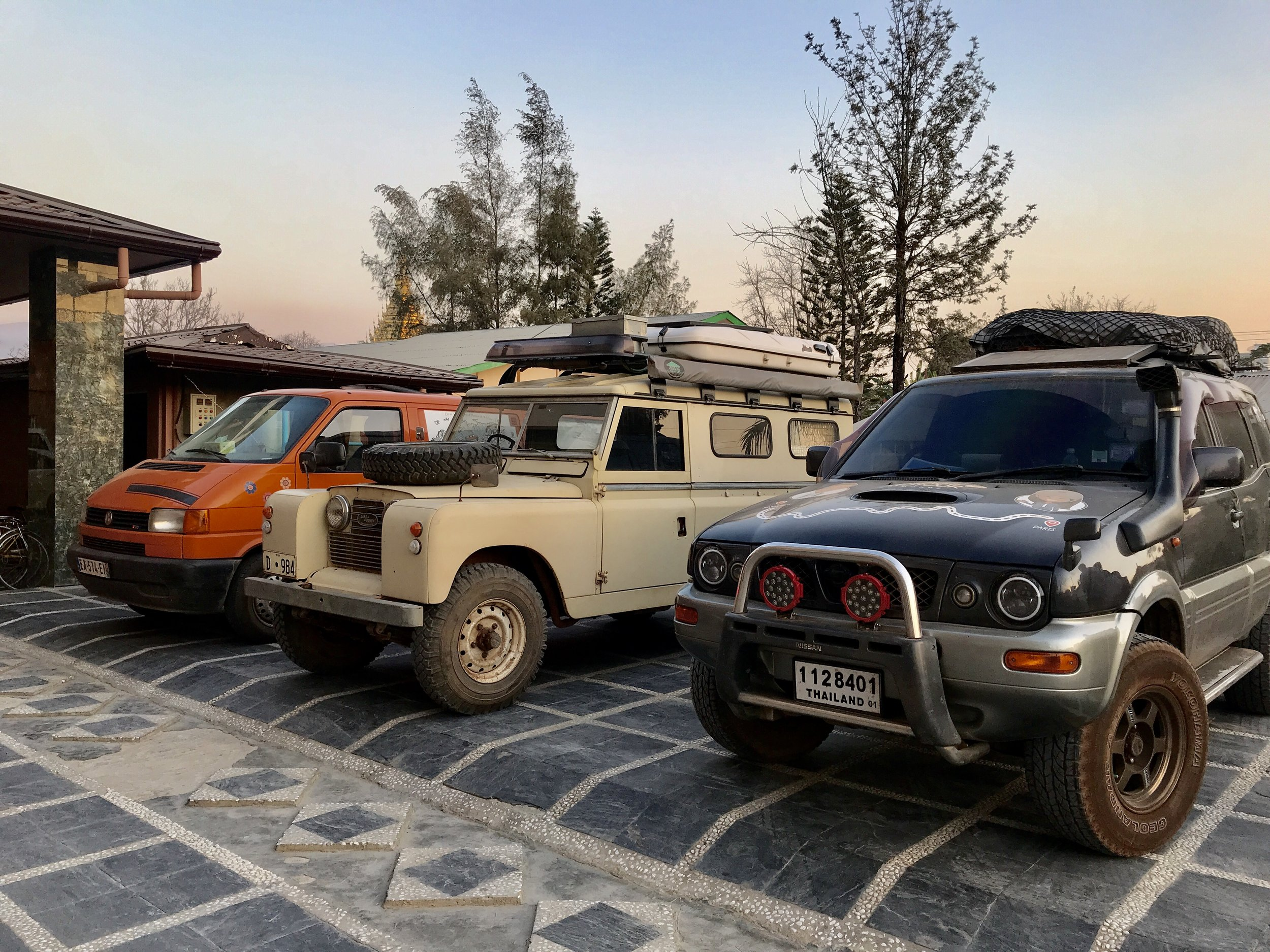 My baby 4x4 and his friends