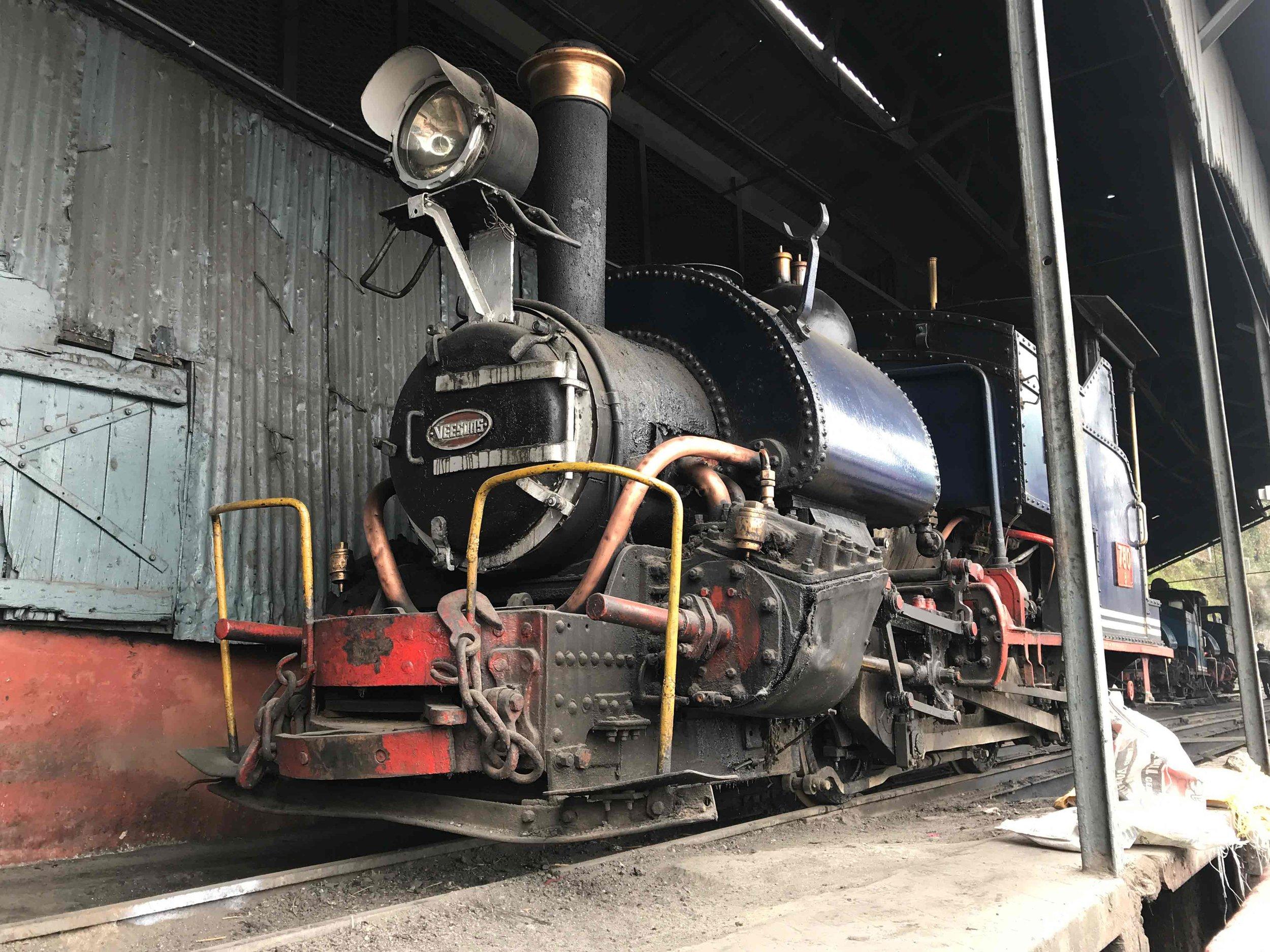 The original Darjeeling train