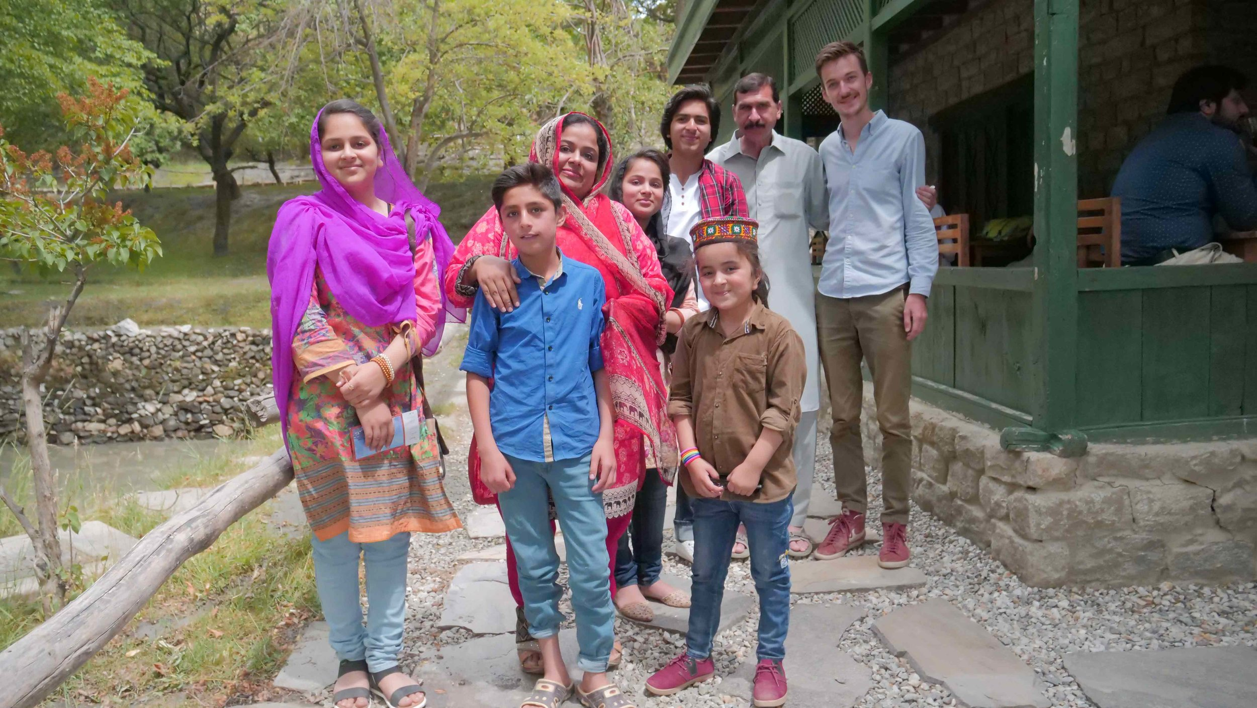Wajid's Family
