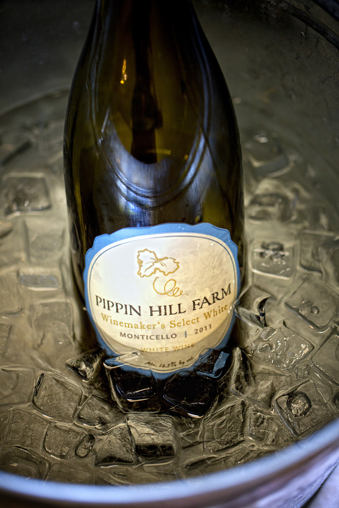 Pippin Hill Vineyards - A gorgeous venue in the mountains outside Charlottesville, Virginia. A true gem.
