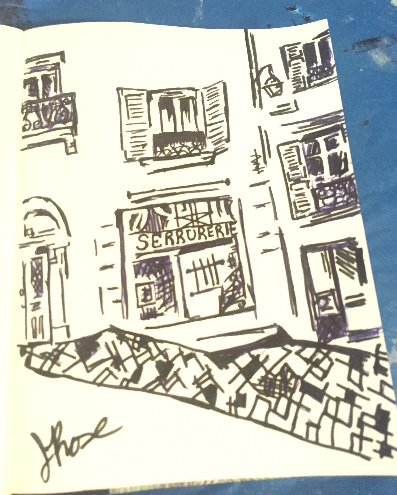 Paris-Street Ink | Sketch