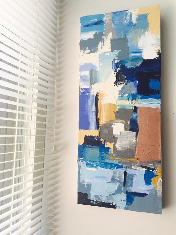 Christie's-Acrylic on Canvas