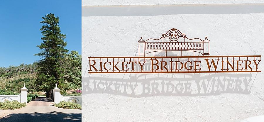 Rickety Bridge Franschhoek