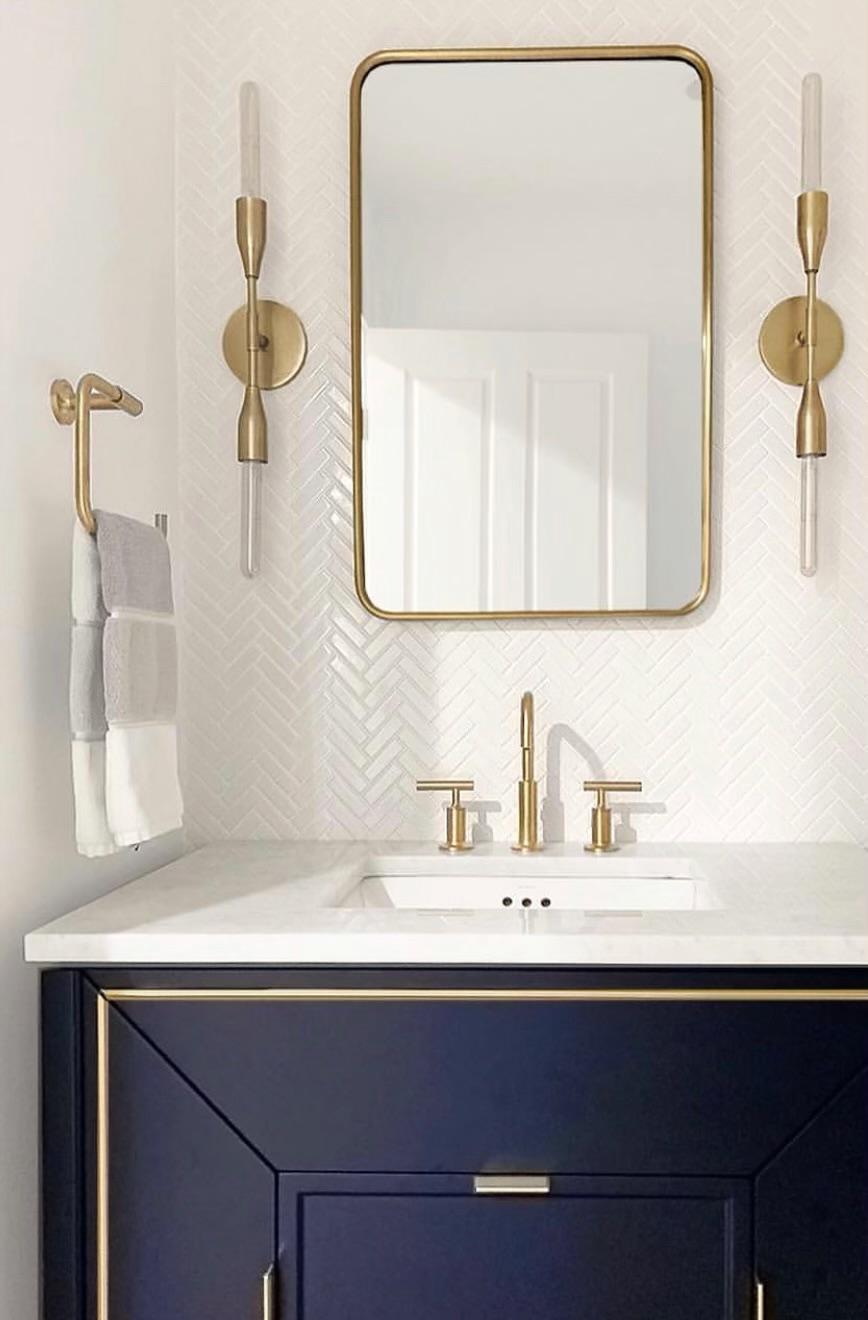 Durham Powder Room Refresh - A touch of modern elegance…
