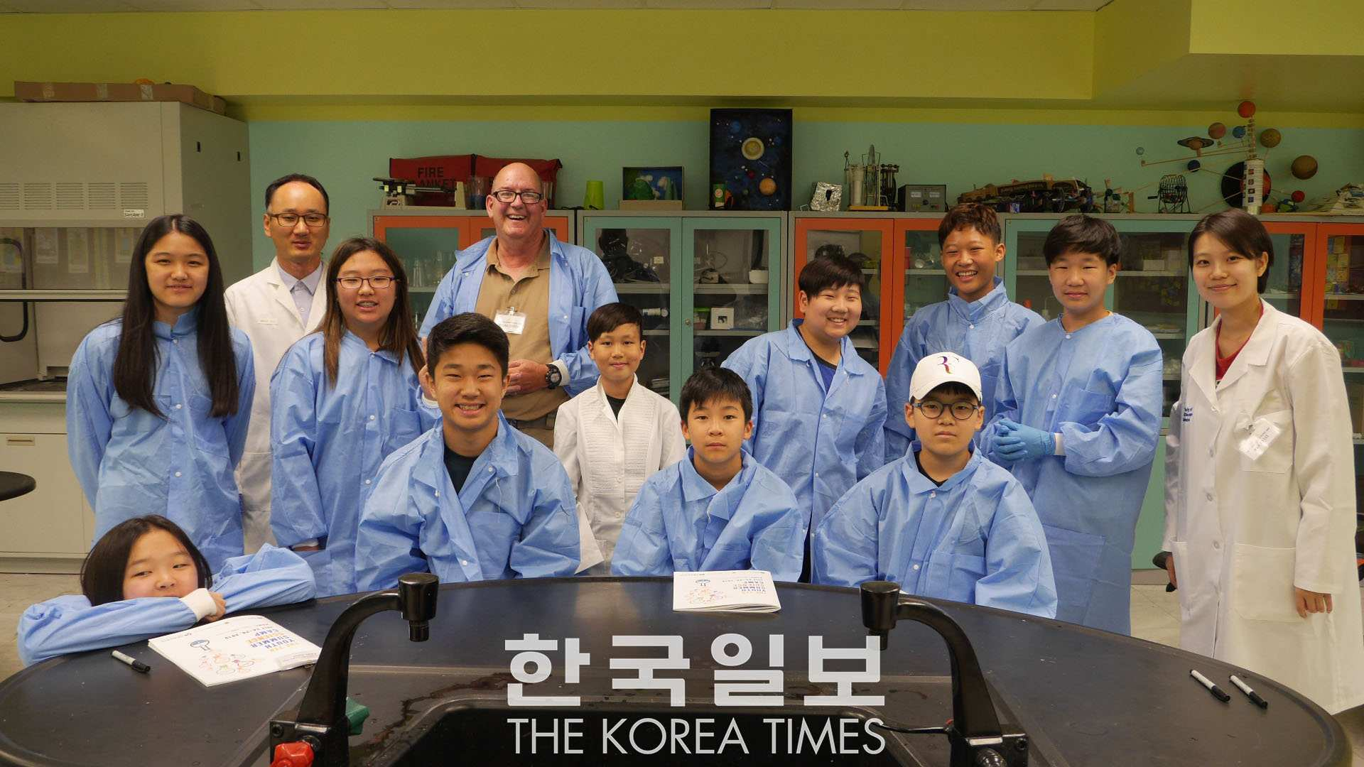 Check out this article about the 2019 Youth Summer Science Camp covered by the Chicago Korea Times - Korean language only