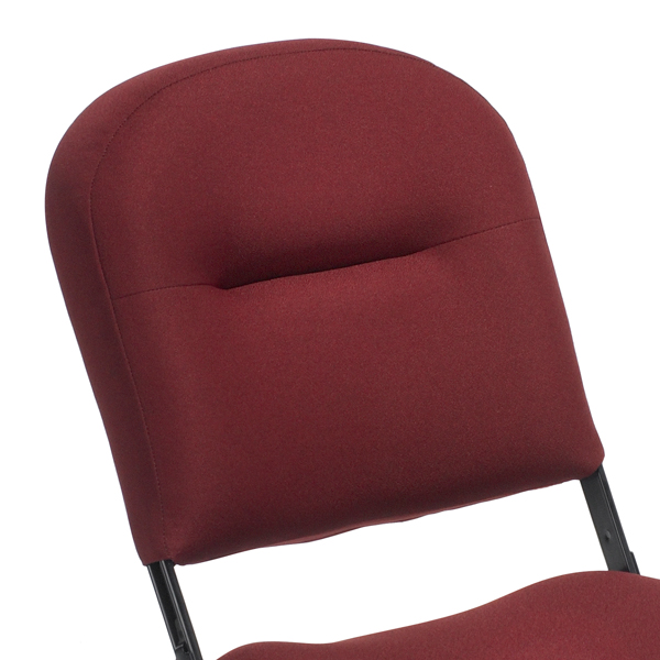 VIP Fully Upholstered  Plush, fully upholstered back offers spectators the ultimate in comfort.  Available on models: VIP  Click photo to enlarge