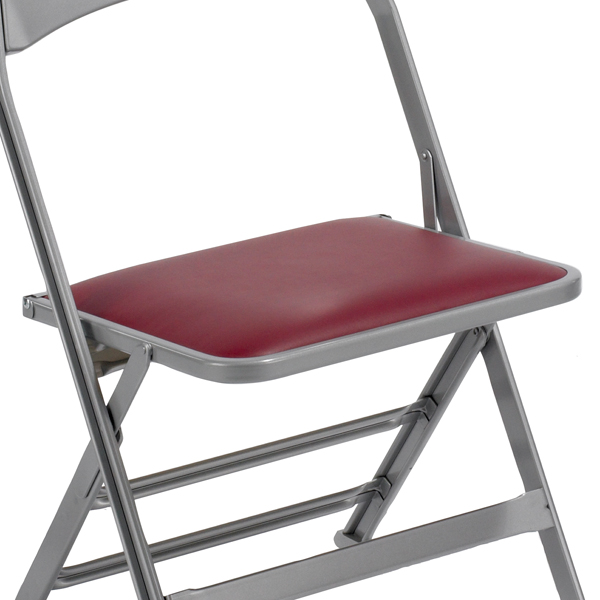 Compact Padded Seat  This 2000 Series padded seat offers the most comfortable seating experience in the series, with your choice of vinyl or fabric upholstery.  Available on models: 2000, 4000  Click photo to enlarge
