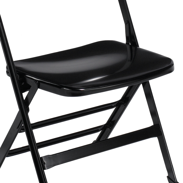 Steel Seat  The steel seat is ergonomically contoured for guest comfort.  Available on models: 2000  Click photo to enlarge