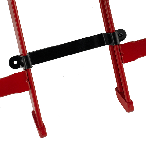 Temporary Ganging Devices  Allows ganging of folding chairs that weren't initially ordered with ganging brackets welded to the frame. A variety of widths are available to customize personal space.  Available on models: 2000, 3000, 4000, Contour, Club, VIP  Click photo to enlarge