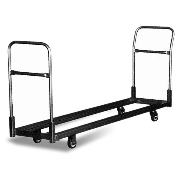 Studio Cart (S)  Available in four sizes, studio carts work well for storing chairs in long, upright rows.