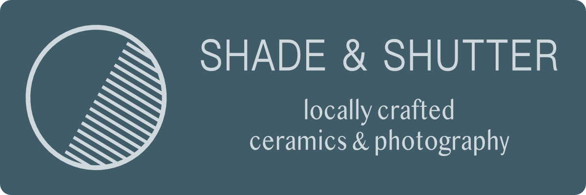 Shade Ceramics and Shutter Photography is a new gallery featuring the modern functional ceramics of Mark Klammer and the soulful photographs of Sarah Carleton in a working studio environment in Key West. Visit here:  www.shadeandshutterkeywest.com