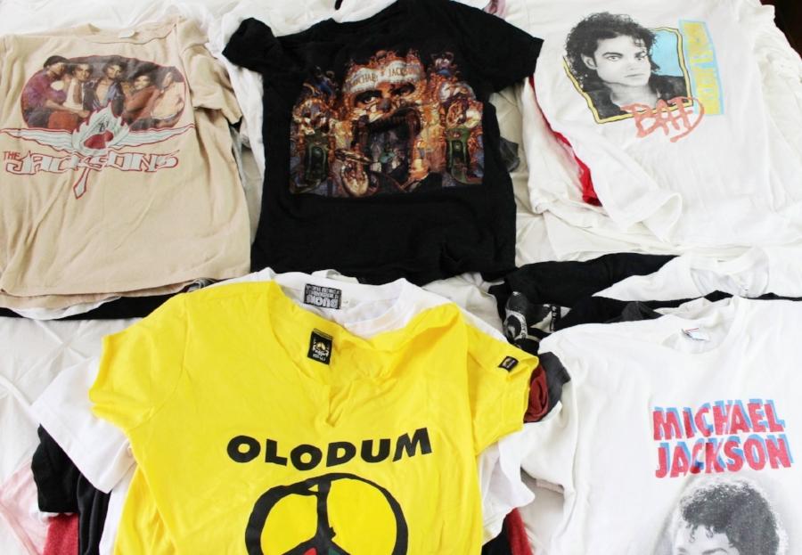 michael jackson shirt collection