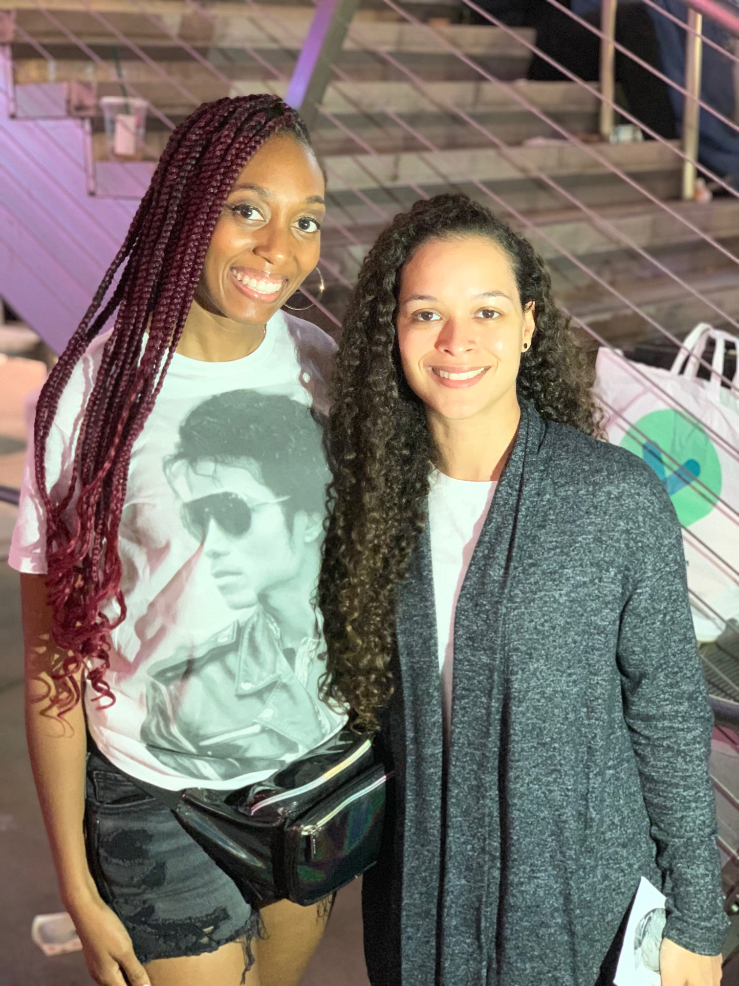 I also met Brandi Jackson (niece of Michael Jackson) at the Hollywood star on June 25th this year. She was SO kind and I thanked her and complimented all of the work she and Taj Jackson have done this year advocating and fighting for Michael's name in the midst of all of what's gone on in the media this year.