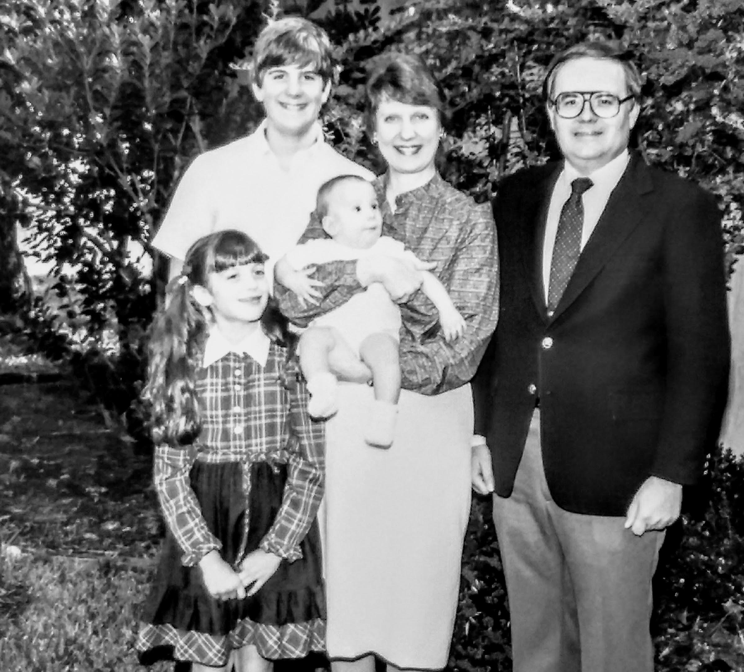 Bilger Family, Houston, Texas,1984