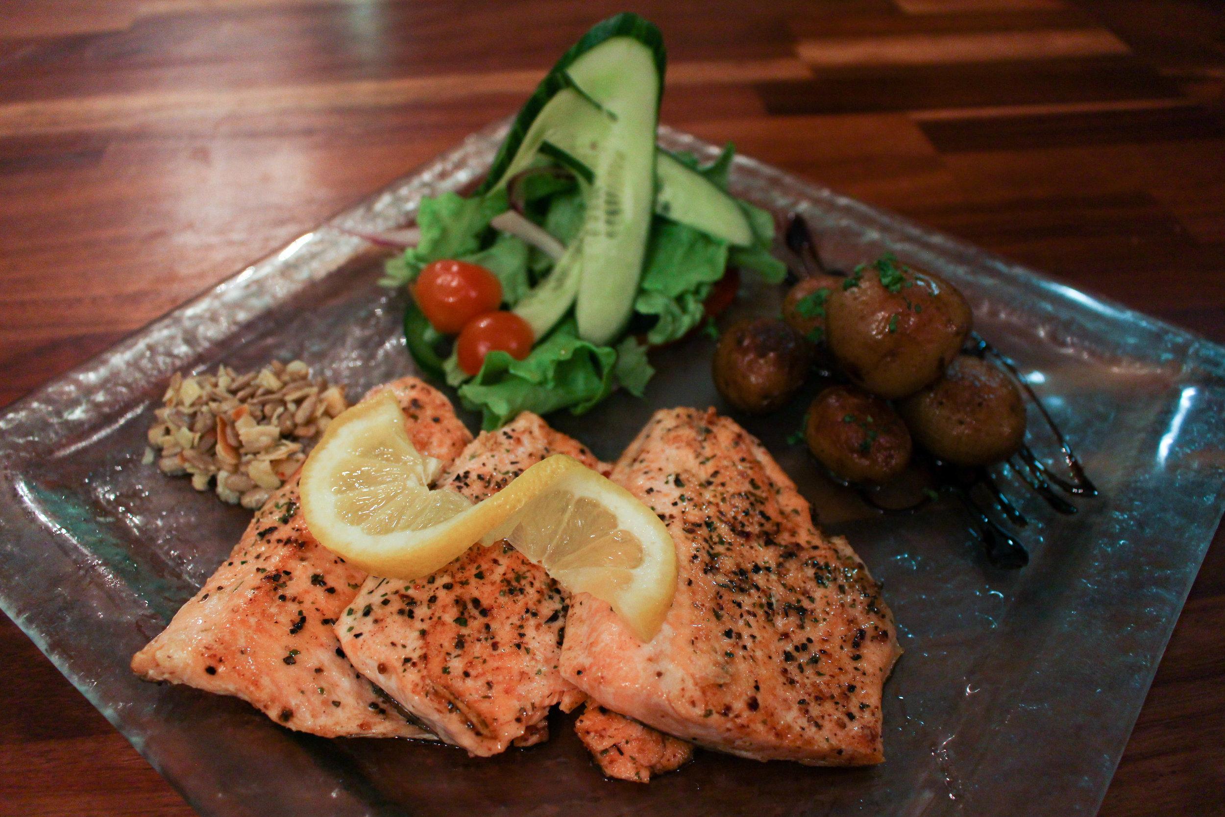 winner winner salmon dinner