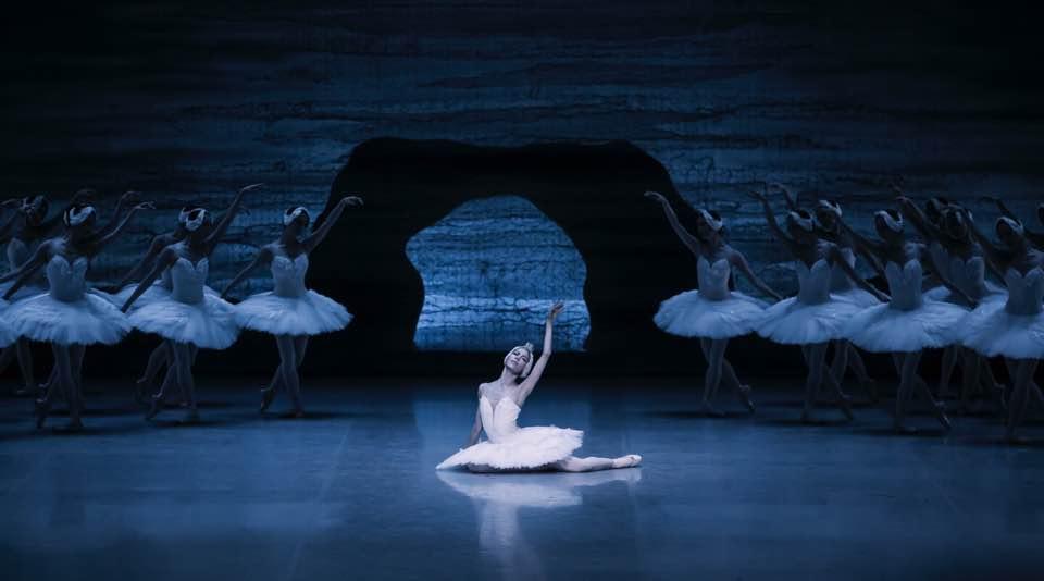 """Odette in """"Swan Lake"""""""