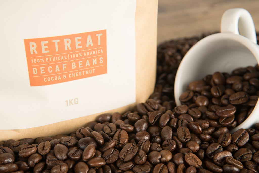 Retreat beans - Decaf beans