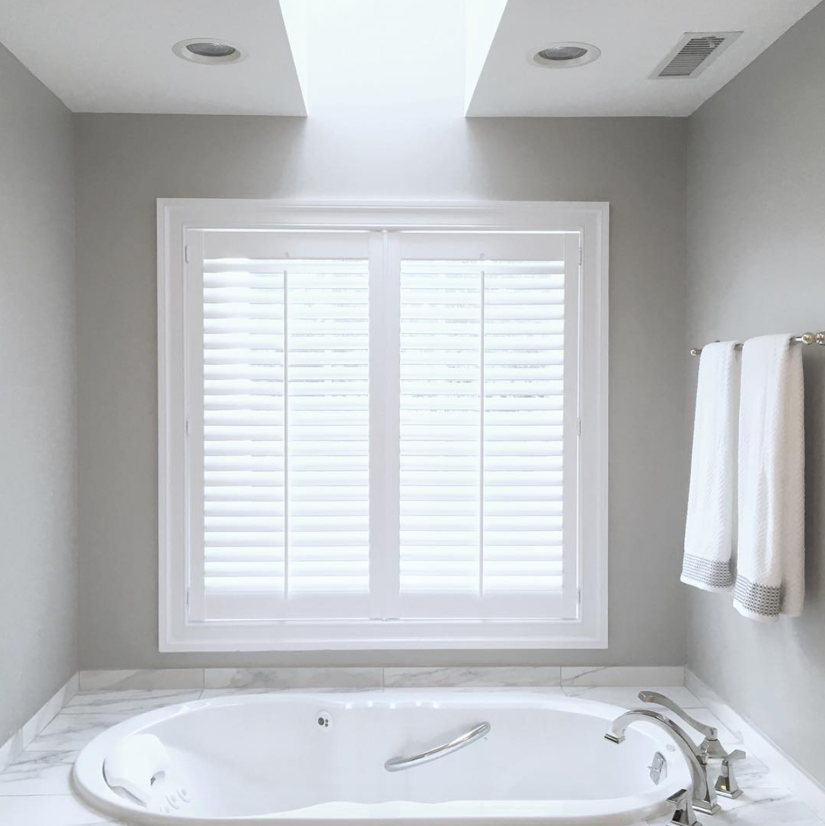 SHUTTERS - Plantation Shutters have gained popularity recently. Bringing warmth and modern appeal to every home, plantation shutters are sure to be a conversation piece in any space.