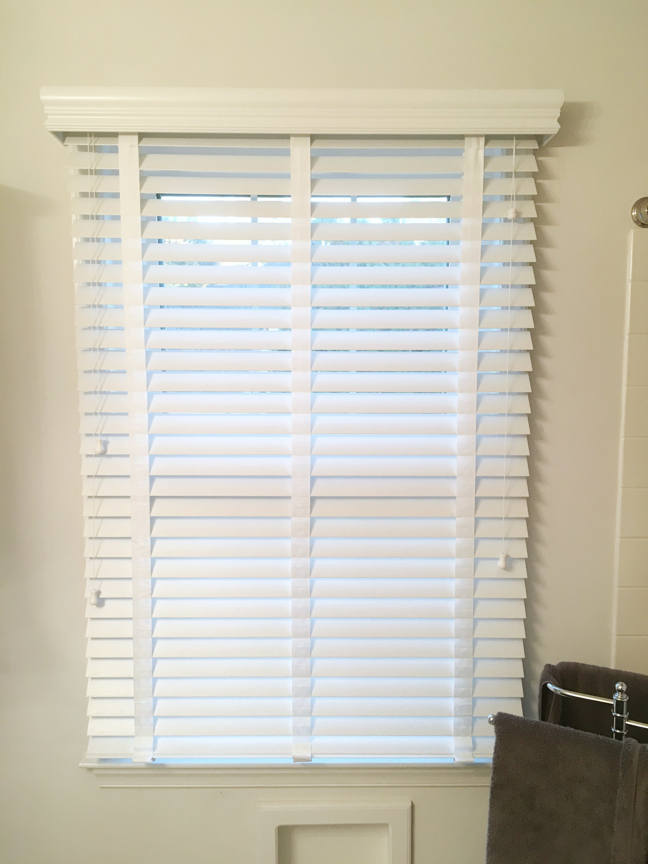 White 3rdGenBlinds window blinds