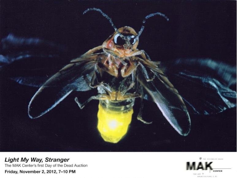 Light My Way, Stranger - Light Installation of Axel at MAK Center